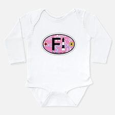 Fire Island - Oval Design Infant Bodysuit Body Sui
