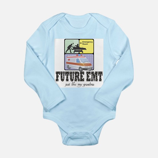 Future EMT Like Grandma Baby Infant Bodysuit Body