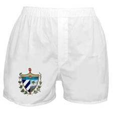 Cuban Coat of Arms Boxer Shorts