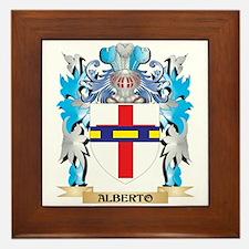 Alberto Coat Of Arms Framed Tile