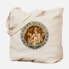 Odin god of hunting Tote Bag