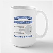 Starfleet Auditing Division Large Mug