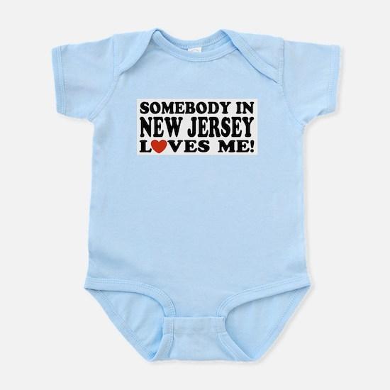 Somebody in New Jersey Loves Infant Bodysuit