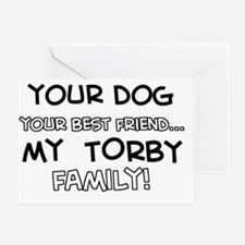 torby cat breed designs Greeting Card