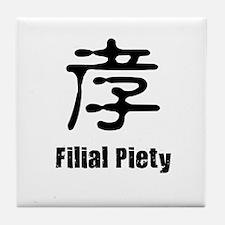 Filial Piety Tile Coaster