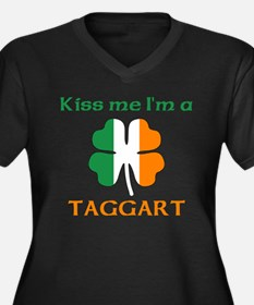 Taggart Family Women's Plus Size V-Neck Dark T-Shi