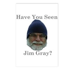 Jim Gray -  Postcards (Package of 8)