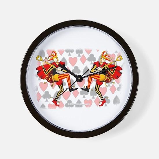 Jokers 01 Wall Clock