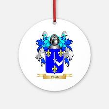 Elijah Ornament (Round)