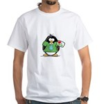 Love Earth Penguin White T-Shirt