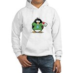 Love Earth Penguin Hooded Sweatshirt