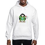 Love Earth Penguin Hooded Sweatshirt