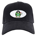 Love Earth Penguin Black Cap