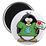 Love Earth Penguin Magnet