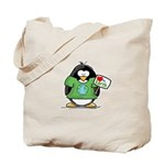 Love Earth Penguin Tote Bag