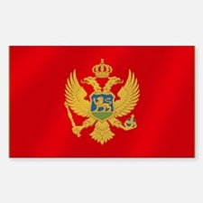 Flag of Montenegro Decal