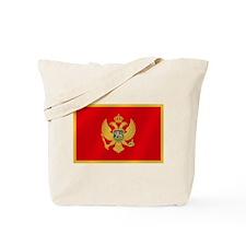 Flag of Montenegro Tote Bag