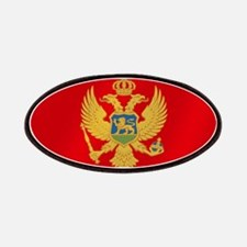 Flag of Montenegro Patches