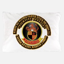 USMC - VMFA(AW) - 224 With Text Pillow Case