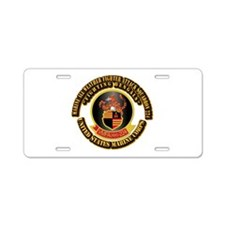 USMC - VMFA(AW) - 224 With Text Aluminum License P