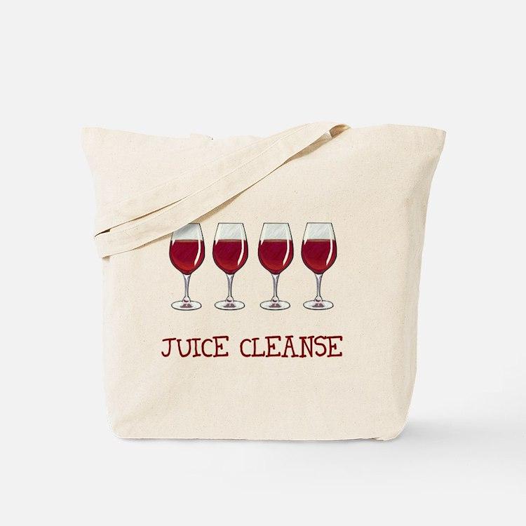 Juice Cleanse Juice Diet Tote Bag