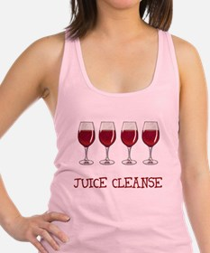 Juice Cleanse Juice Diet Racerback Tank Top