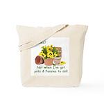 Pots & Pansies Gardener Tote Bag