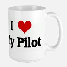 I Love My Pilot Mugs