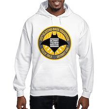 Detroit Techno Militia Hoodie (white)