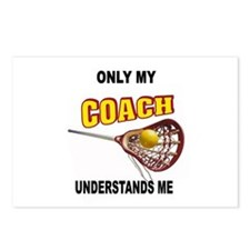 LACROSSE COACH Postcards (Package of 8)