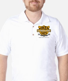 Hiker Chick-HD Golf Shirt
