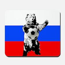 Russian Football Flag Mousepad