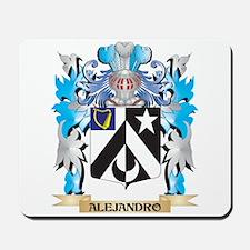 Alejandro Coat Of Arms Mousepad
