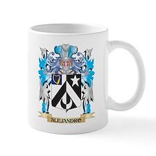 Alejandro Coat Of Arms Mugs