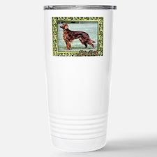 Irish Setter Dog Christ Stainless Steel Travel Mug