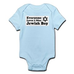 Everyone Loves a Nice Jewish Infant Bodysuit