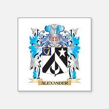 Alexander Coat Of Arms Sticker