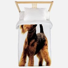 Airedale Terrier Dog Christmas Twin Duvet