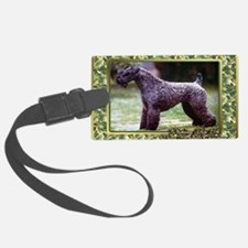 Kerry Blue Terrier Dog Christmas Luggage Tag