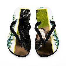 English Setter Dog Christmas Flip Flops