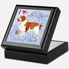 Welsh Springer Spaniel Keepsake Box
