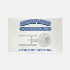 Starfleet Geology Division Rectangle Magnet