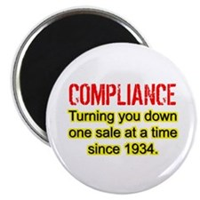 Compliance Turn Down Magnet