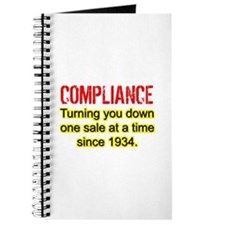 Compliance Turn Down Journal