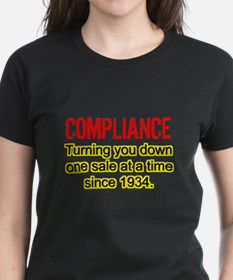 Compliance Turn Down Tee