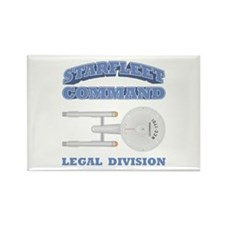 Starfleet Legal Division Rectangle Magnet