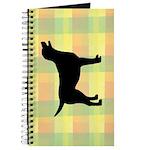 plaid love my lab Journal