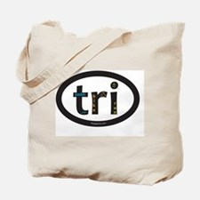 Tri Design Tote Bag