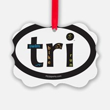 Tri Design Ornament