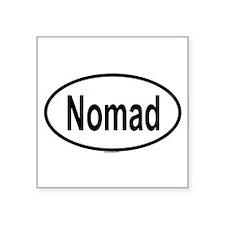 NOMAD Oval Sticker